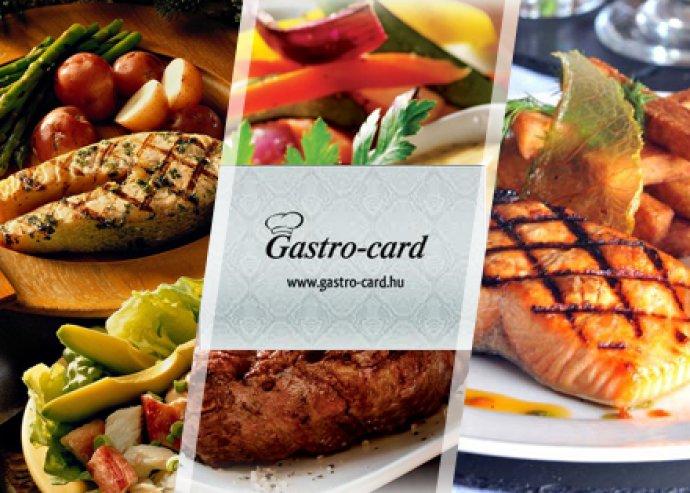 Gastro-Card Ezüst Kártya Budapest 22 éttermébe