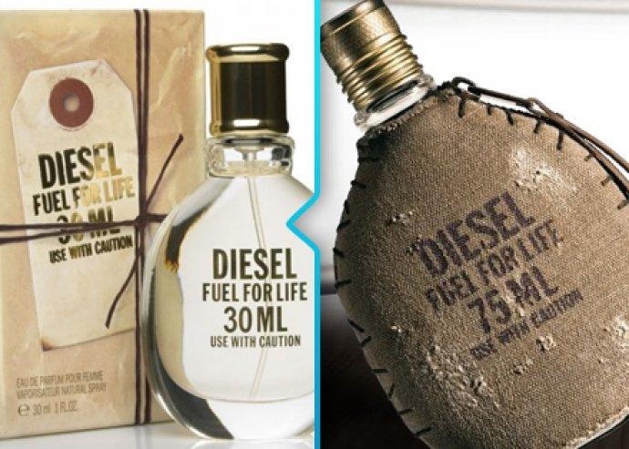 Diesel Fuel for Life 75 ml-es férfi vagy női parfüm