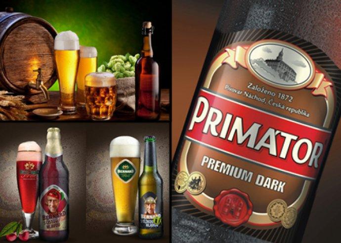 PRÉMIUM kategóriás cseh kézműves sörök