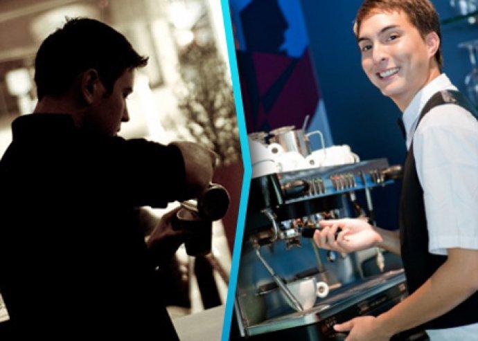 Barista képzés kóstolással és kávédíszítési trükkökkel
