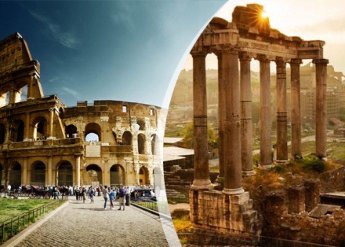 4 nap vagy 5 nap, 2 főre a mesés Rómában