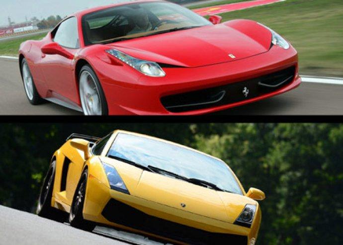 Ferrari F430  - Lamborghini Gallardo – Próbáld ki!