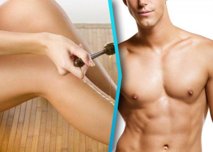 Gyantázás nőknek és férfiaknak a sima és selymes bőrért