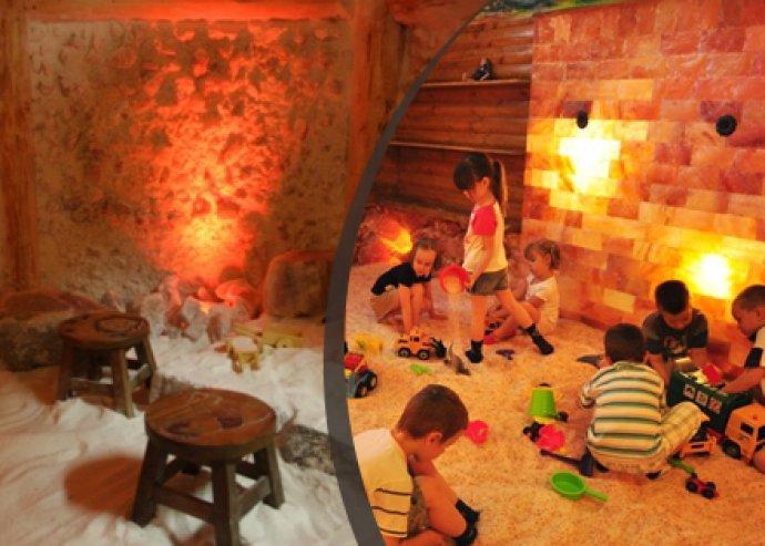 2 alkalmas felnőtt sóbarlang belépő a Csillag Sóbarlangba