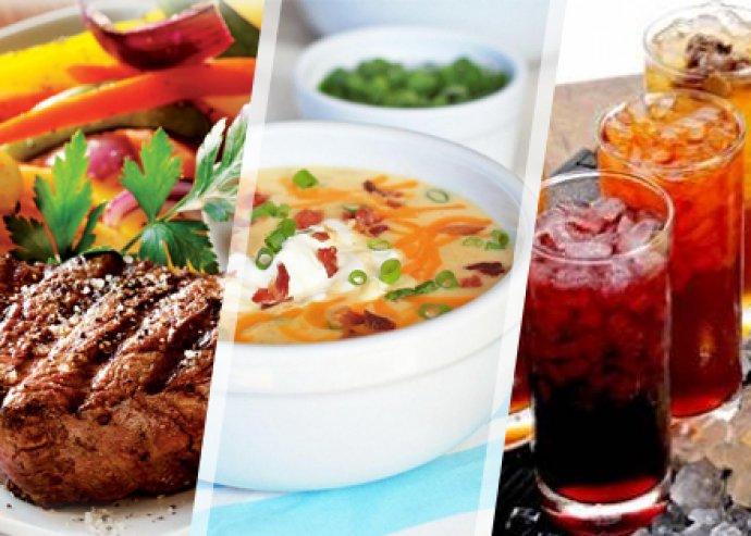 A'la carte ételfogyasztás választható üdítőitallal