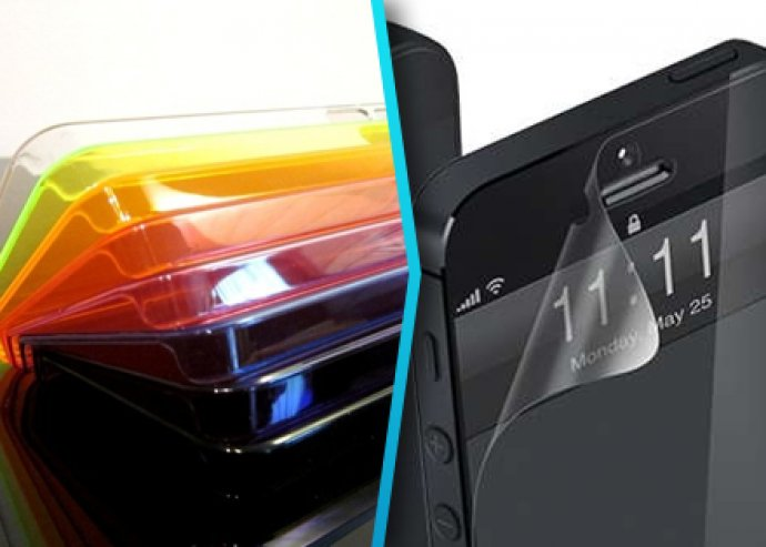 iPhone 5 tok ajándék fóliával és törlőkendővel
