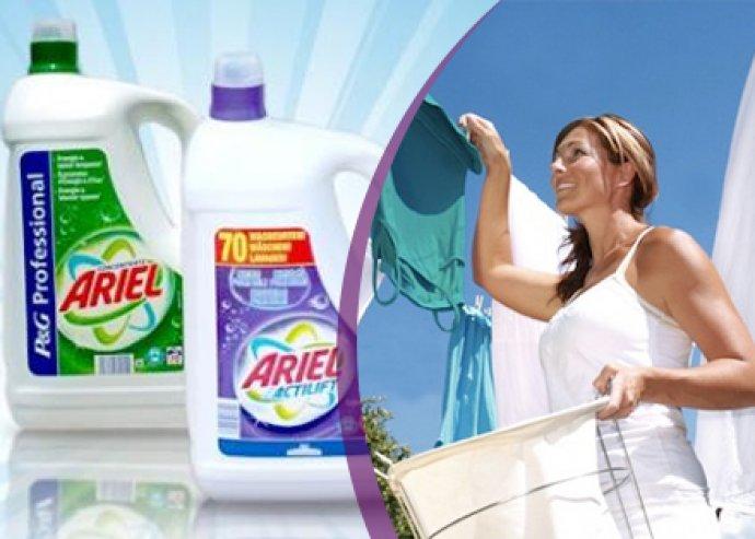 Ariel mosógél-csomagok házhozszállítással