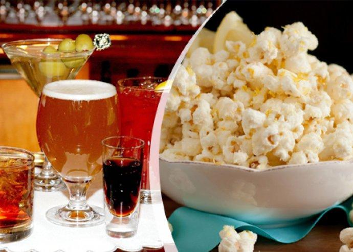 2 vagy 4 óra biliárd, italfogyasztás és popcorn