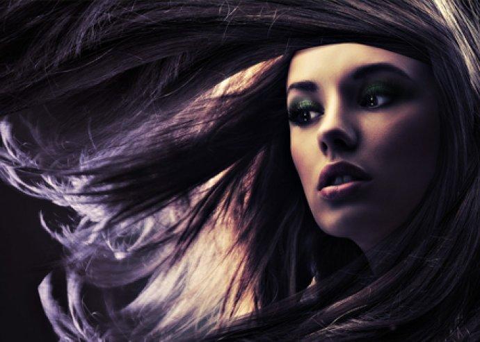 Ombre hajfestés félhosszú hajig