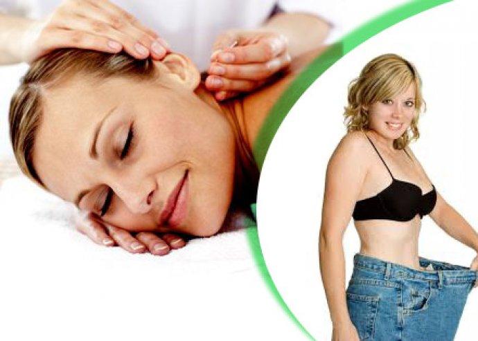 Két alkalmas fogyasztó fülakupunktúrás kezelés