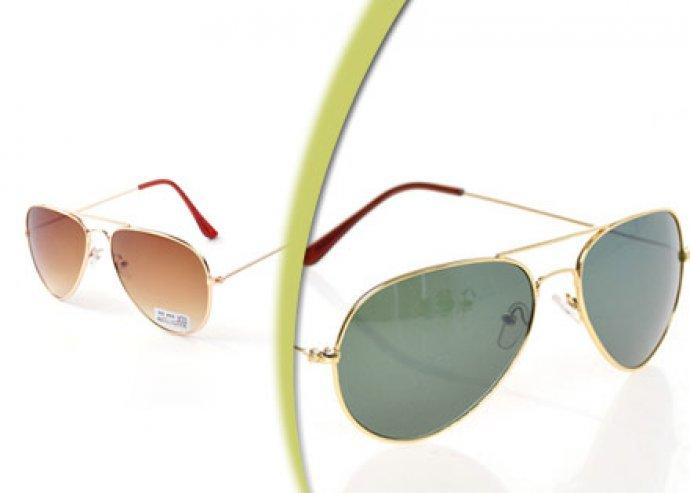 Aviator napszemüveg – UV 400 lencsével