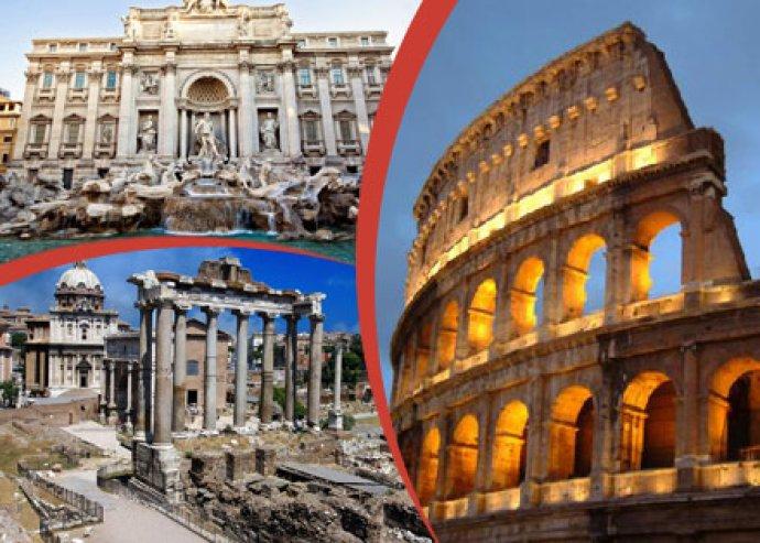 4 vagy 5 nap szállás Rómában ajándékokkal