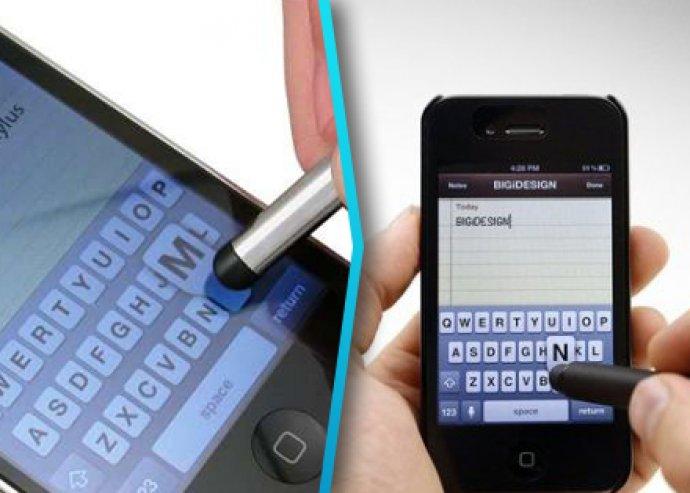 Érintőceruza okostelefonhoz, 10 színben