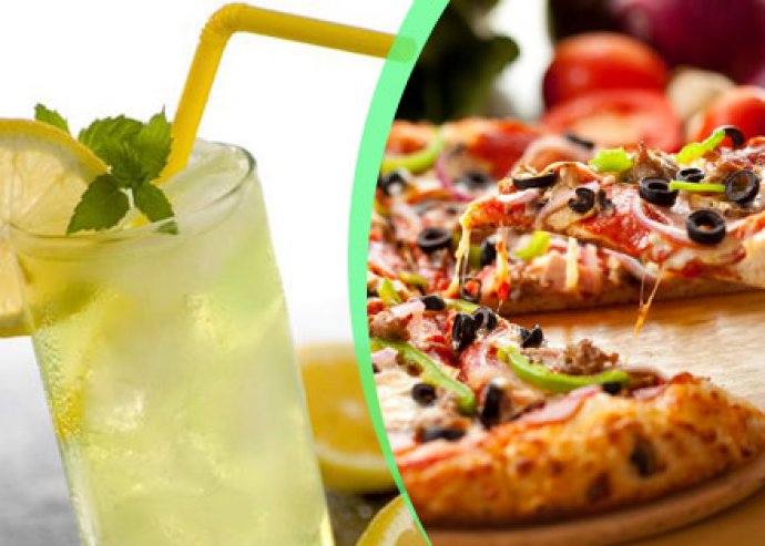 2 db kívánság pizza + házi limonádé