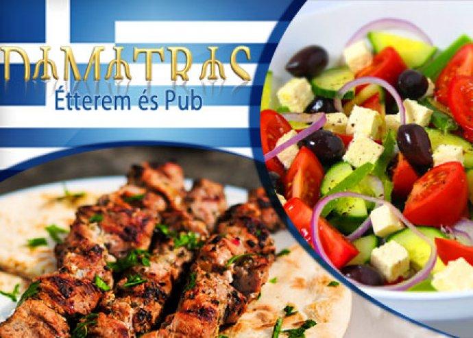 Á'la carte görög étel- és italfogyasztás 2 fő részére