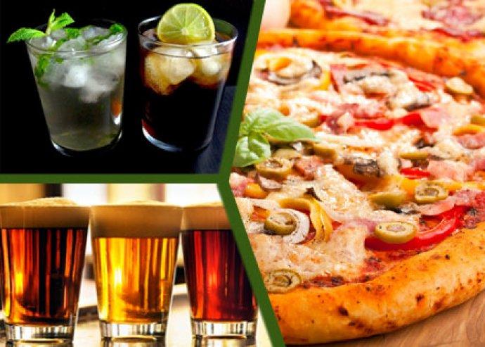 32 cm-es Pizza + ital a szád íze szerint