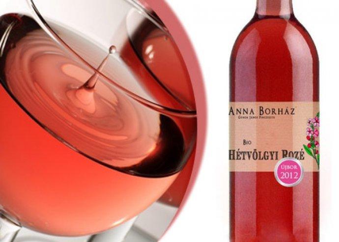 Hétvölgyi Rozé - Üde, gyümölcsös bio bor