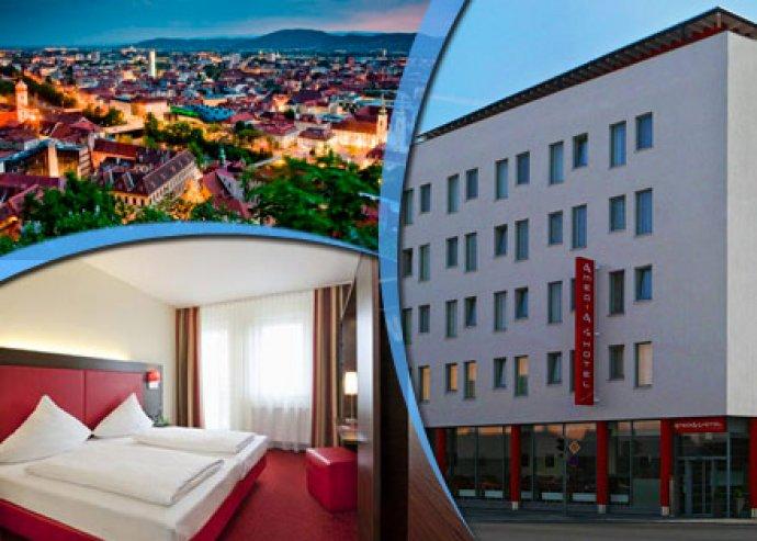 3 nap/2 éj, 2 főre, reggelivel - Graz, Amedia Hotel