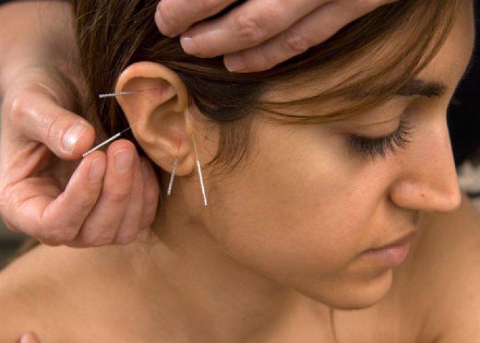 Fül akupunktúra, nyirokmasszázs, állapotfelmérés