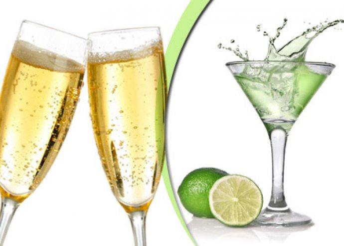 Koktél és pezsgőfogyasztás – Astoria Bár