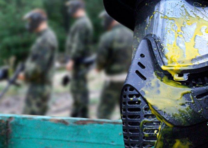 1 órás lézerharc vagy 4 órás paintball 50 db lőszerrel