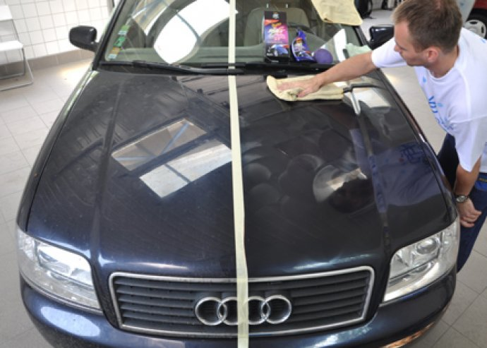 Autó kozmetika: kárpittisztítás, szellőzőrendszer tisztítás stb.