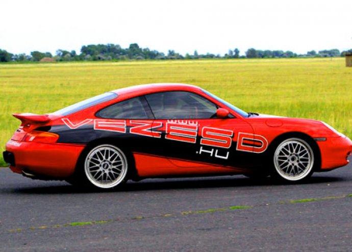 Porsche tesztvezetés