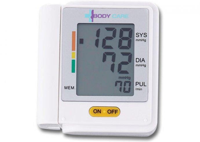Kényelmes, praktikus, digitális és automata csukló vérnyomásmérő