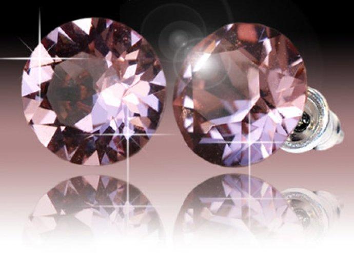 Xirius kristály fülbevaló a Swarovskitól, 13 féle színben, Swarovski-Elements kristályokból