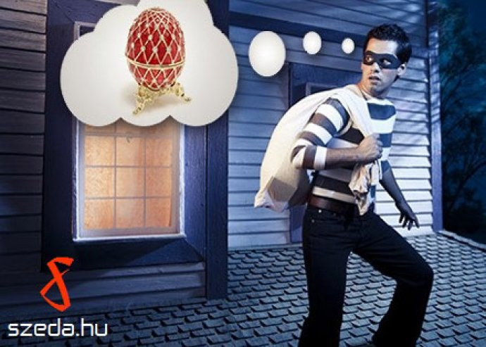 Fabergé! Légy te a tojás tolvaj! Kreatív, logikai, ügyességi játék 2-5 fő részére, 60-75 percben
