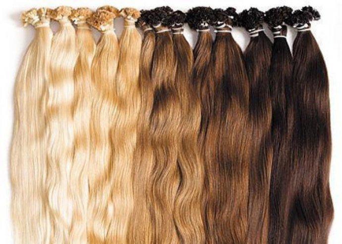 Microgyűrűs vagy kreatinos hajhosszabbítás a Full Diamond Szépségszalonban