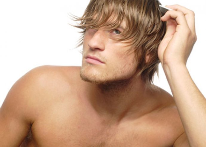 Hajvágás férfiaknak, fejmasszázzsal, szárítással és hajformázással!