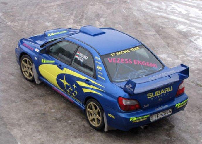7 vagy 10 körös Subaru élményautózás a Kakucs Ringen