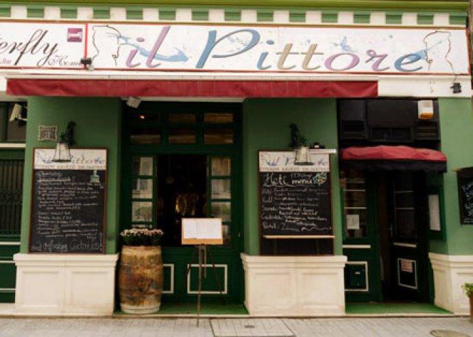 2 főre gyertyafényes olasz falatozás, welcome pezsgővel az Il Pittore étteremben, a belvárosban