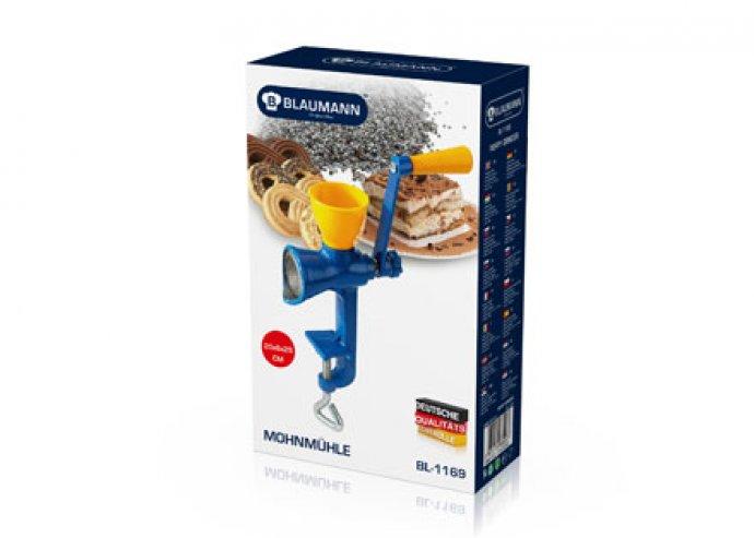 Mákdaráló, a háztartás alapdarabja, plusz 12 darab ajándék muffin sütőpapír