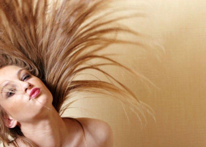 Hajvágás és szárítás + hajsütés vagy hajvasalás