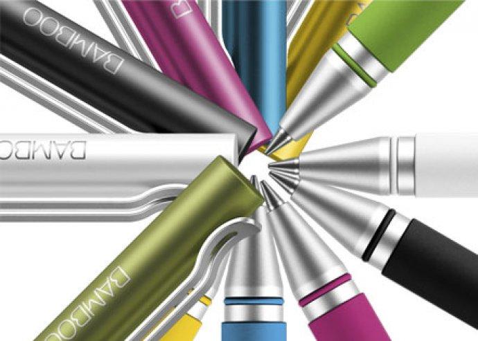 Wacom Bamboo Stylus DUO digitális toll, kapacitív kijelzős telefonokhoz, tabletekhez és papírhoz