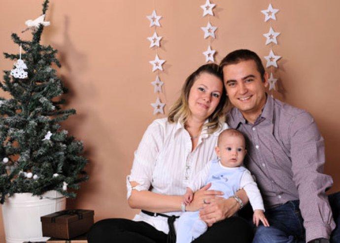 Karácsonyi családi vagy egyéni fotózás retusálással+ajándék fényképes hűtőmágnes!