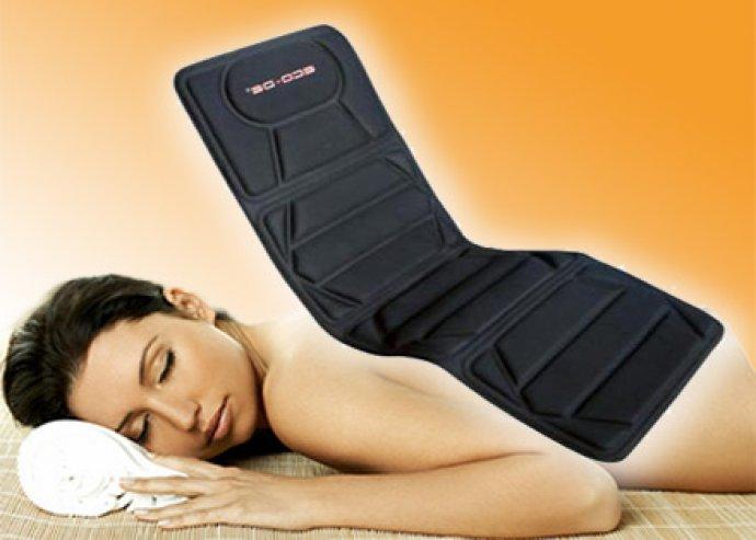 Masszázsmatrac 5 programmal, a nyaknak, deréknak, a lábnak
