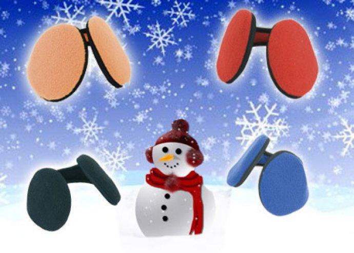 Polár anyagból készült, flexibilis, Katoy téli fülvédő, 4 féle szín közül kiválasztva