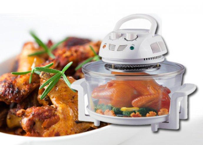 Multicooker, multifunkciós konvekciós sütő, energiatakarékos és gyors sütés-főzés