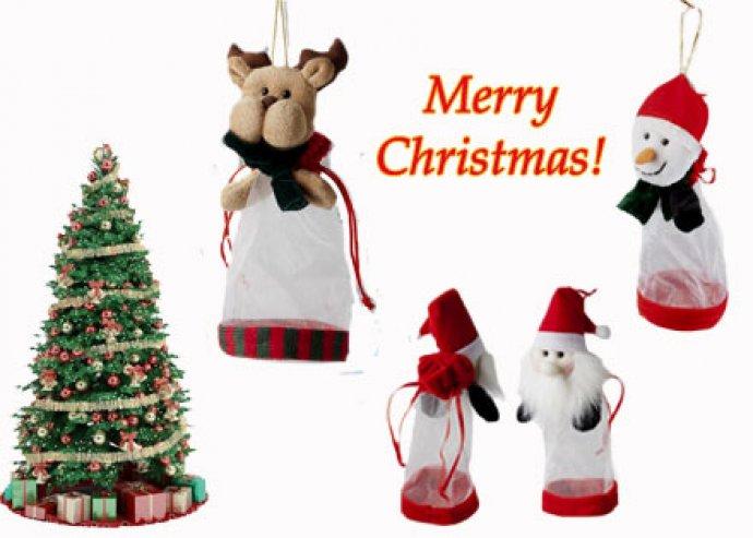 Különleges Kumho ajándéktasak rénszarvasos, mikulásos vagy hóemberes mintával