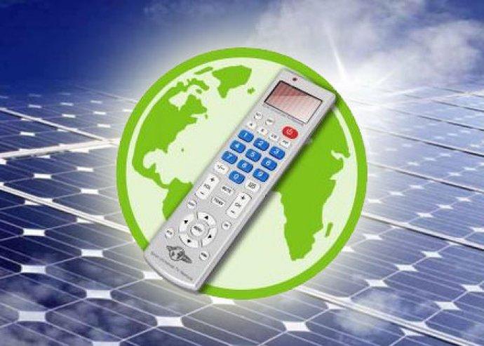 Go Green Napelemes univerzális távirányító, környezettudatos és nem fogod összekeverni a videóét és a TV-ét