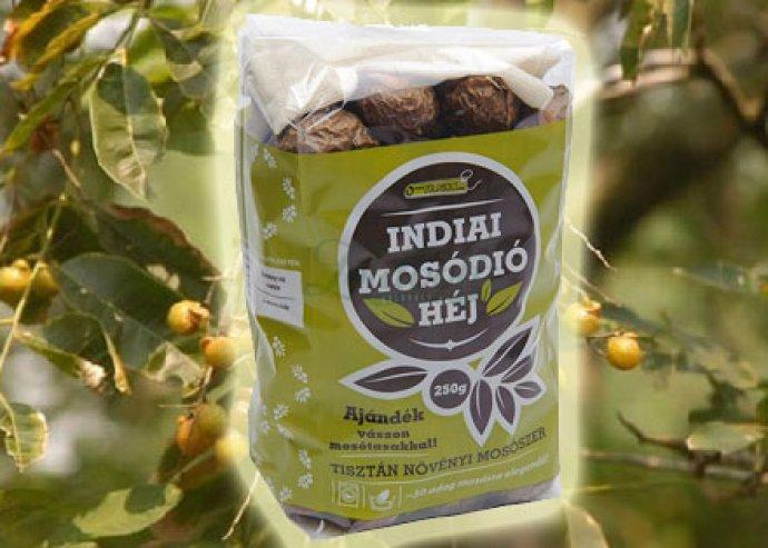 Indiai mosódió héj, a környezetbarát és antiallergén univerzális tisztítószer