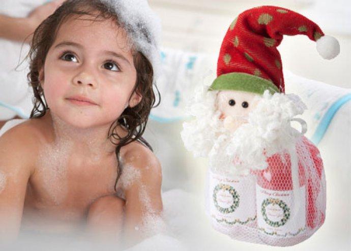 Levendula illatú fürdő szett kedves ajándéktasakban