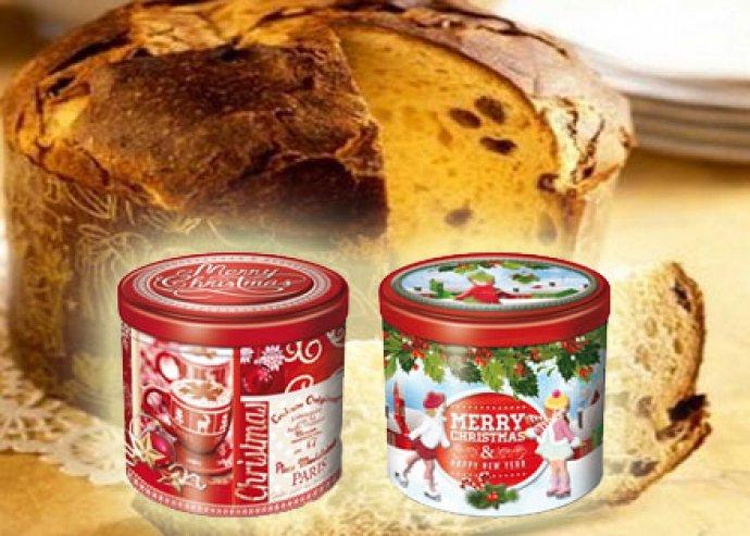750 g-os klasszikus olasz karácsonyi kalács - Balocco Panettone Classico díszdobozban