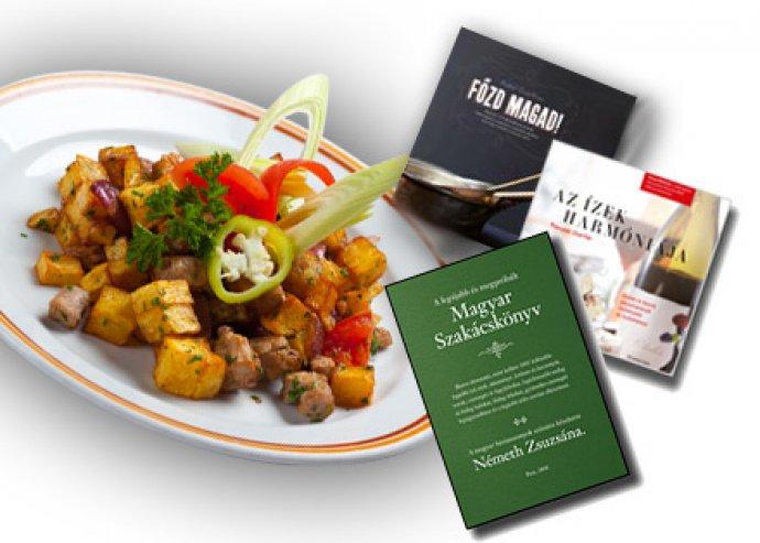3 féle szakácskönyv közül választhatsz, hogy egyszerűbb legyen a konyhában
