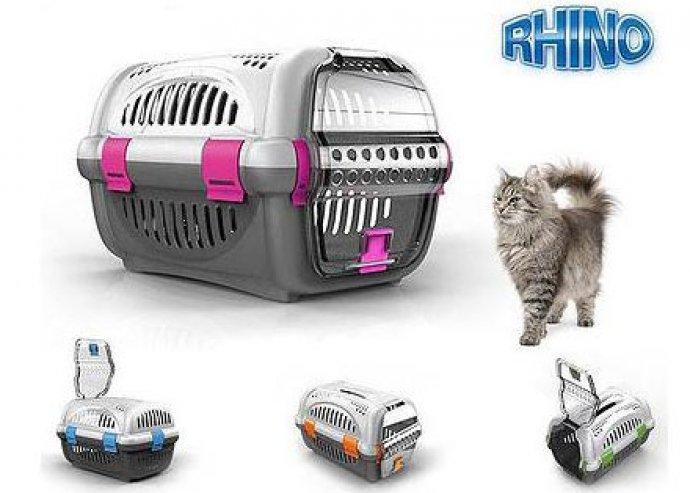 Állathordozók, 4 típusban, Rhino és Vision szállítóboxok