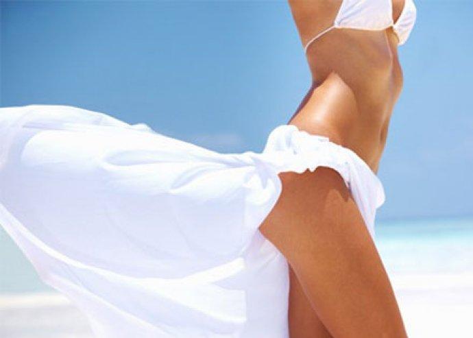30 perces, 4:1-ben kavitációs, ultrahangos, zsírolvasztó kezelés
