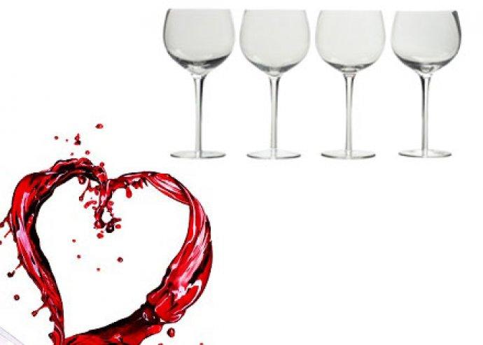 Barossa boros pohárkészlet, 4 db-os